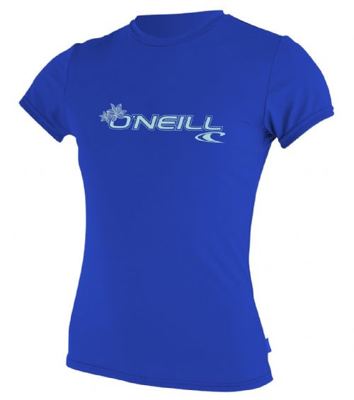O'NEILL WOMENS RASH T SHIRT.SKINS UPF50+ SUN PROTECTION CREW VEST TOP 8S 547 273